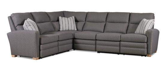 Motioncraft reclining sectional