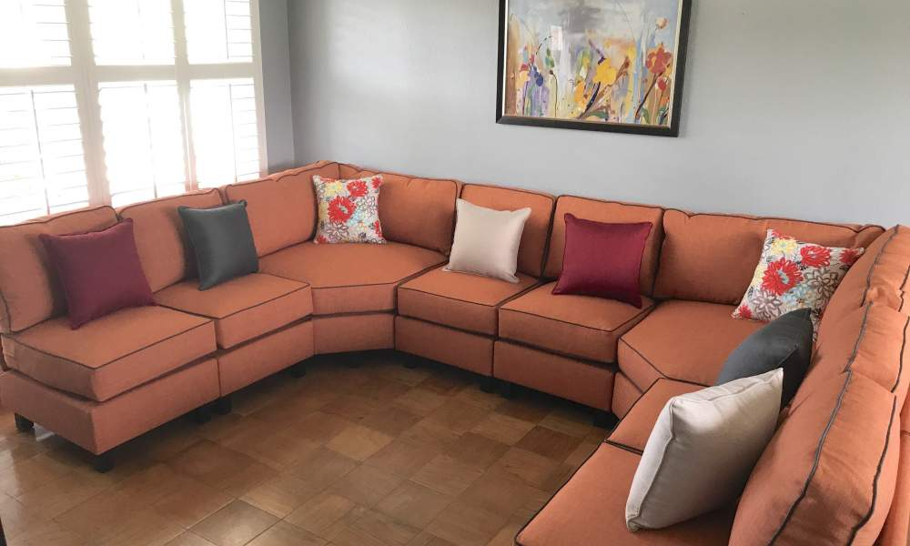 What are the dimensions for sectional sofas?