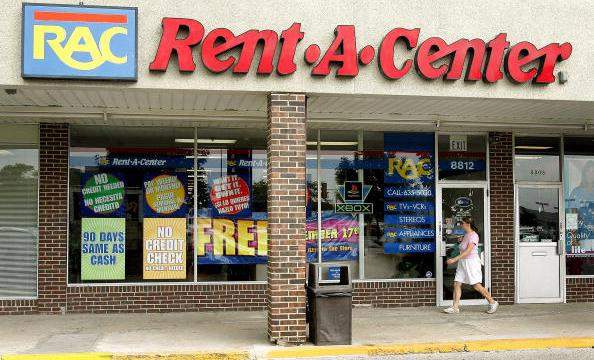 Can you actually rent at Rent a Center stores?